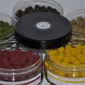 Dipované mini boilies - práškové (powder)